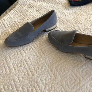 Michael Kors grey loafers
